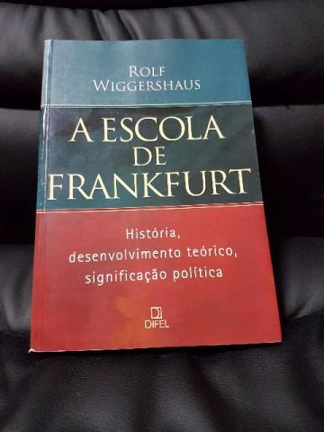 Resultado de imagem para a escola de frankfurt livro Rolf Wiggershaus