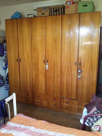 Armario duplex madeira gavetas externas pendotiba for Armario 6 portas