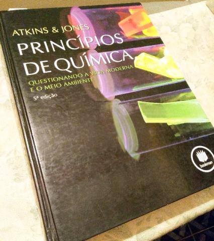 livro principios de quimicaquestionando a vida e o meio