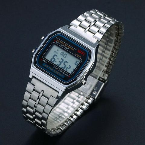 622db49bdc9 relogio casio vintage feminino prata digital la670wa 4df 8690081 ...