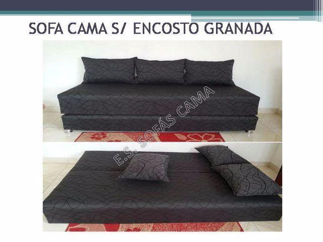 Sofas cama c preco imbativel com almofadas soltas e for Fabrica de sofa cama