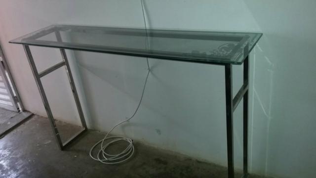 Aparador Sala Jantar ~ aparador de vidro com os pes de inox [ OFERTAS ] Vazlon Brasil