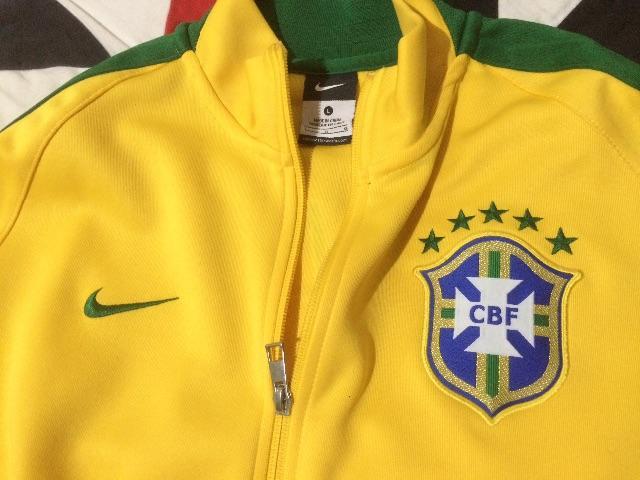 casaco nike da selecao brasileira   OFERTAS    8726c1d7519bb