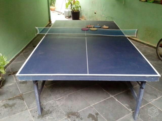 Menor preco mesa de ping pong completa ofertas for Mesa de ping pong usada
