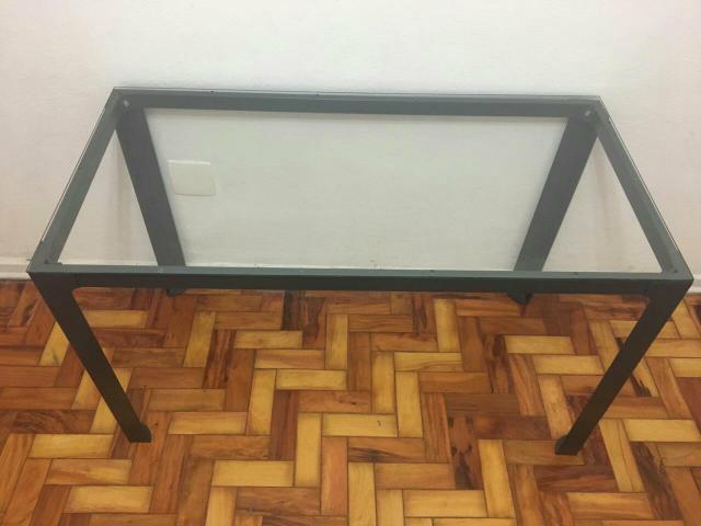 Aparador Para Tampo De Vidro ~ mesa de vidro preta e aparador preto tok stok [ OFERTAS ] Vazlon Brasil