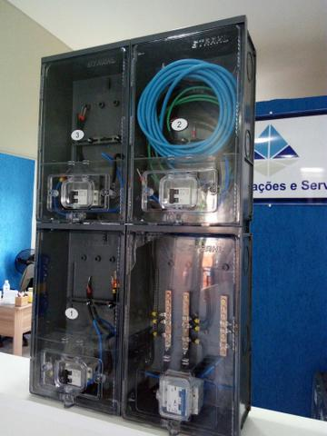 de4938faa93 caixa de luz p 3 medidores instalacao lateral muro em   OFERTAS ...