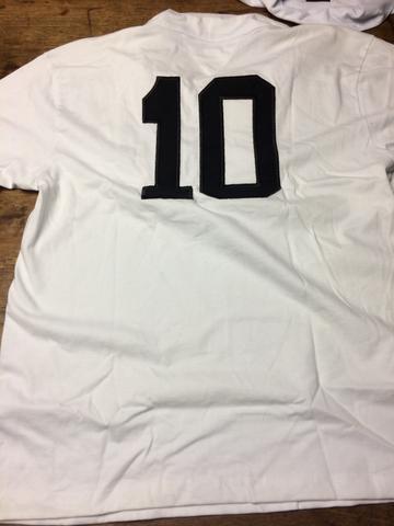77e353e9549ed camisa retro santos autografada por pele e neymar   OFERTAS ...