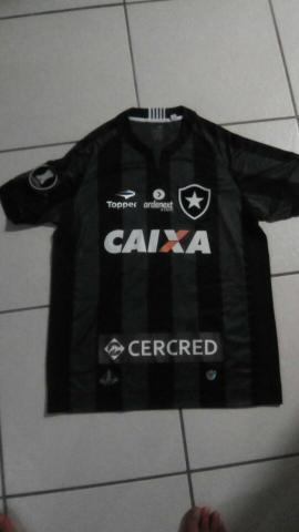 camisa botafogo loco abreu usada em jogo no carioca   OFERTAS ... a5de0e796333a