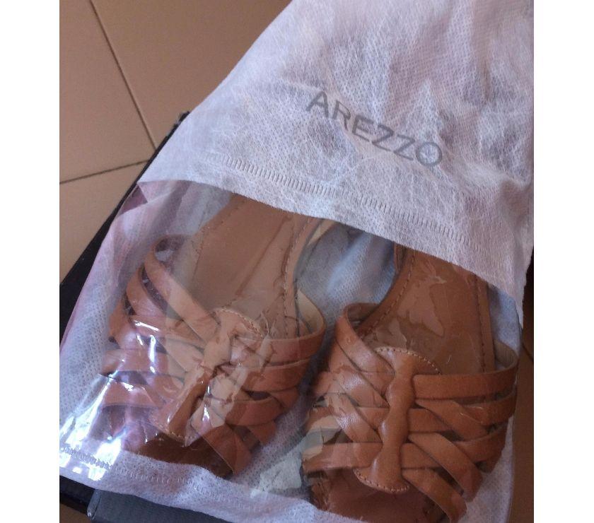 bd1bd1758 sandalia salto rasteiro arezzo [ OFERTAS ] | Vazlon Brasil