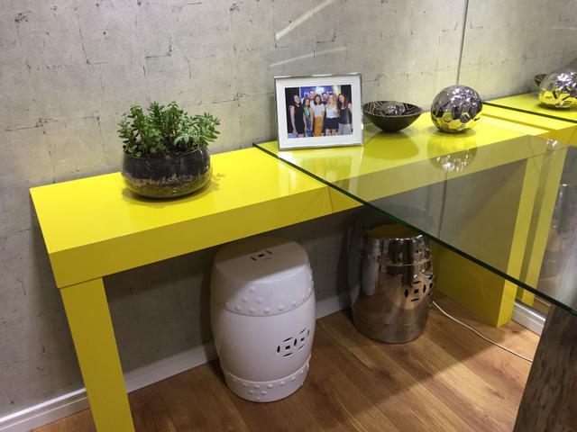 Armario Keter De Plástico Con Cerradura ~ aparador bar para sala lindo amarelo Vazlon Brasil