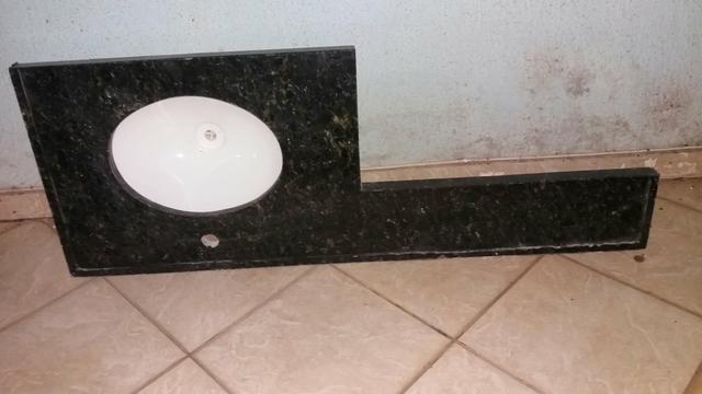 gabinete com cuba para banheiro e bancada marmore  Vazlon Brasil -> Cuba Banheiro Celite