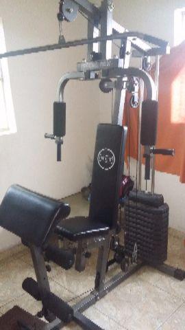 1ceba4fd78 estacao de musculacao com kg de peso wct fitness   OFERTAS ...