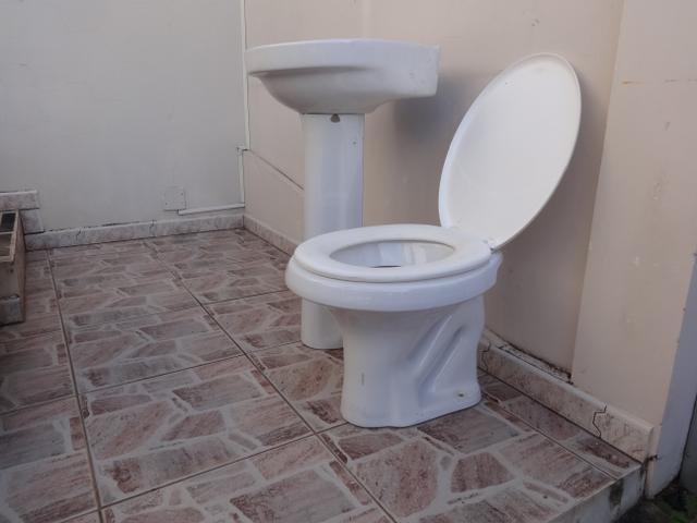 jogo sanitario para banheiro completo luxo pia vaso  Vazlon Brasil -> Pia Banheiro Roca