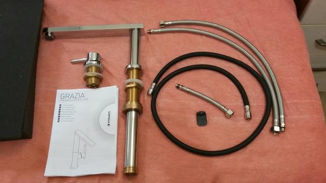 Kit docol para banheiro single chrome com 5 peças : Kit para banheiro pecas em metal cromado krhomo belo