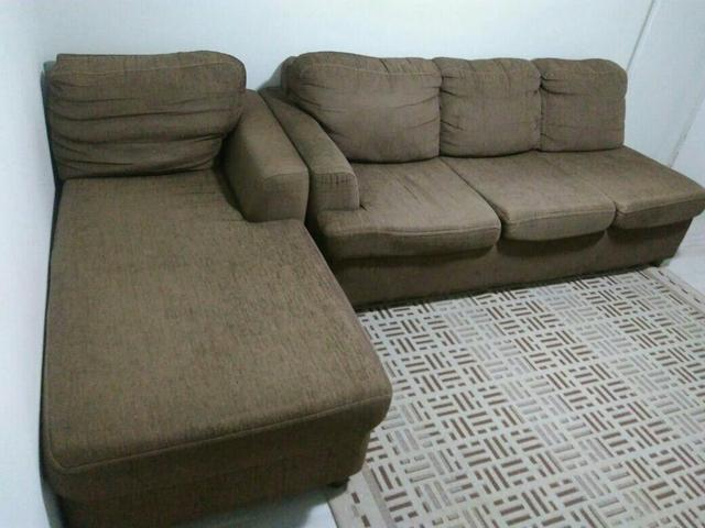 Awe Inspiring Sofa 3 Lugares American Comfort America Com Chaise Lado Forskolin Free Trial Chair Design Images Forskolin Free Trialorg
