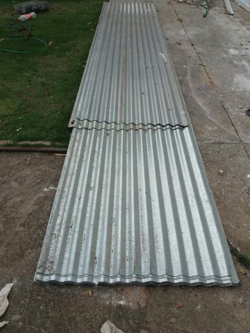 Telha de zinco 6 metros
