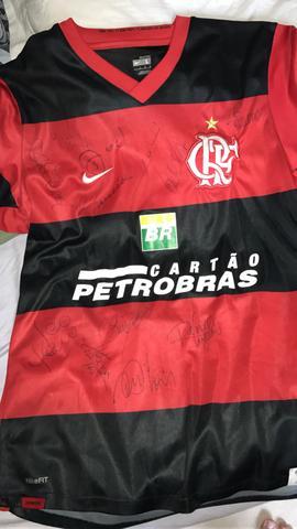 5a4aeebe53 camisa do flamengo autografada   OFERTAS