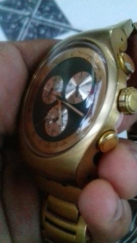 cb81d1548b8 swatch serie ouro aceito trocas tbm OFERTAS Vazlon Brasil