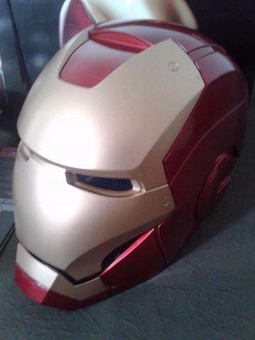 Capacete Cosplay Do Iron Man Ofertas Vazlon Brasil