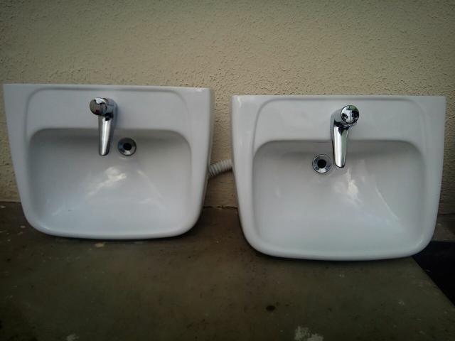 conjunto pia coluna deca para banheiro novo  Vazlon Brasil -> Cuba Para Banheiro Com Coluna