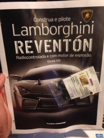 Colecao Lamborghini Reventon Fasciculos Ofertas Vazlon Brasil