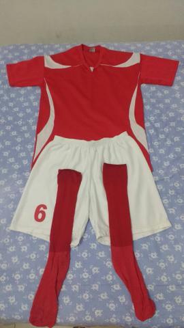 uniforme completo modelo milan celeste branco 121 12 camisas 12 ... 985f78f73f861