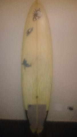 326e2b2ca prancha funboard 68 com quilha e leash   OFERTAS