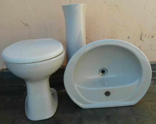 conjunto pia banheiro vaso sanitario  Vazlon Brasil -> Conjunto De Banheiro Vaso E Pia