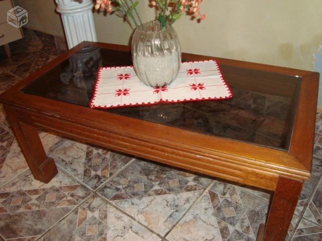 Mesa de centro em madeira muito bonita ofertas for Mesas de centro bonitas