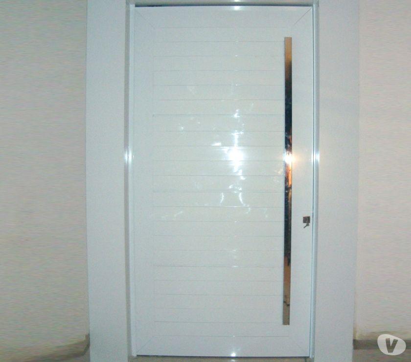 Par de janelas de aluminio integrada linha suprema for Porta 1 20
