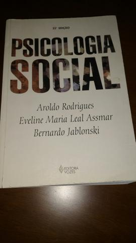 psicologia social aroldo rodrigues pdf download