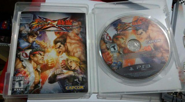 Street Fighter vs Tekken - Playstation 3 pouco uso -