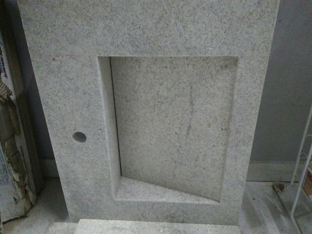 pia granito nova plavabo ou banheiro ccuba  Vazlon Brasil -> Pia De Banheiro Semi Nova