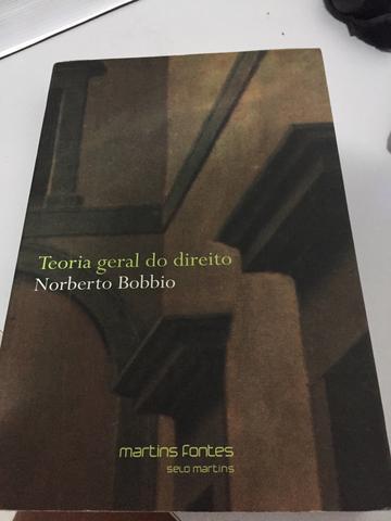 Teoria geral do direito (em portuguese do brasil): norberto bobbio.
