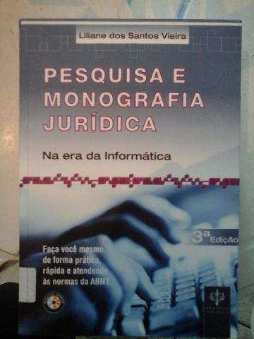 Metodologia de pesquisa monografia