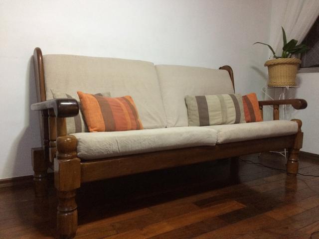 sofa modelo colonial usado vazlon brasil. Black Bedroom Furniture Sets. Home Design Ideas