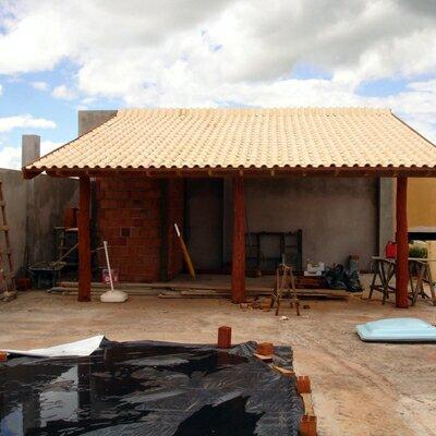 Limpeza de telhado colonial