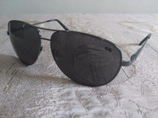 b6967e036 oculos de sol quadrado oc detalhes prata e preto lentes [ OFERTAS ...