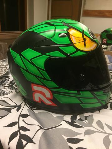 capacete hjc rpha 10 speed machine jorge lorenzo branco   OFERTAS ... eaf3c1aae53