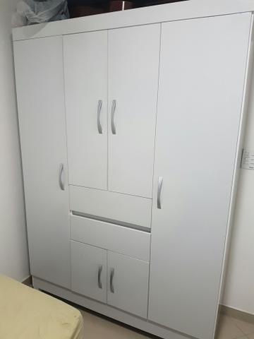 Armario branco 6 portas ofertas vazlon brasil for Armario 6 portas