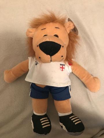Boneco Pelúcia Mascote Inglaterra Copa do Mundo Raro 612c4cd15c462