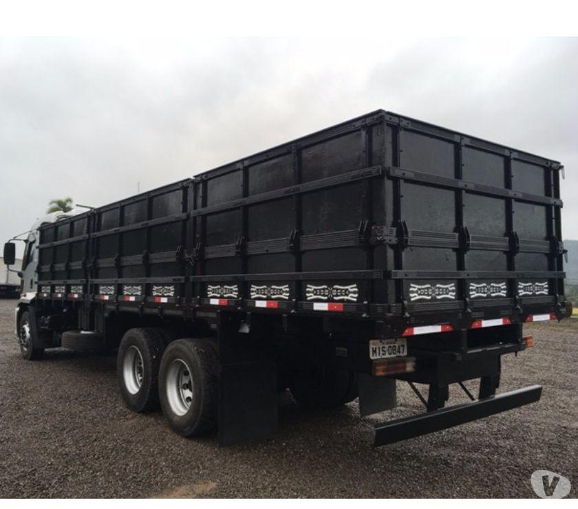 Ford Cargo Cabine Leito Top Line Truck 6x2 Carroceria E Ofertas