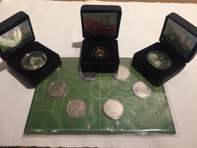 moedas de copa do brasil de futebol de prata fina 999   OFERTAS ... 7eaa0ca8a5c9c