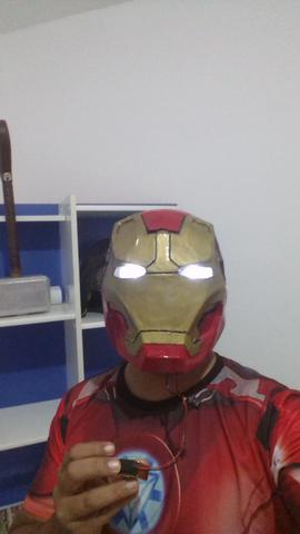 Capacete Homem De Ferro Papercraft Ofertas Vazlon Brasil