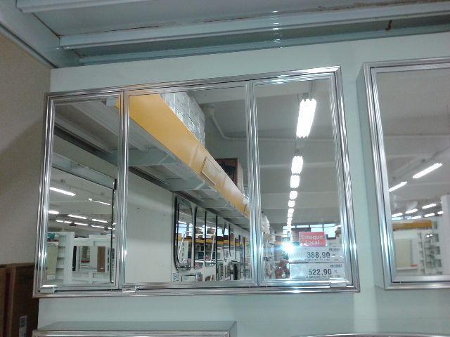 armario de banheiro crismetal  Vazlon Brasil -> Armario De Banheiro Com Espelho Crismetal
