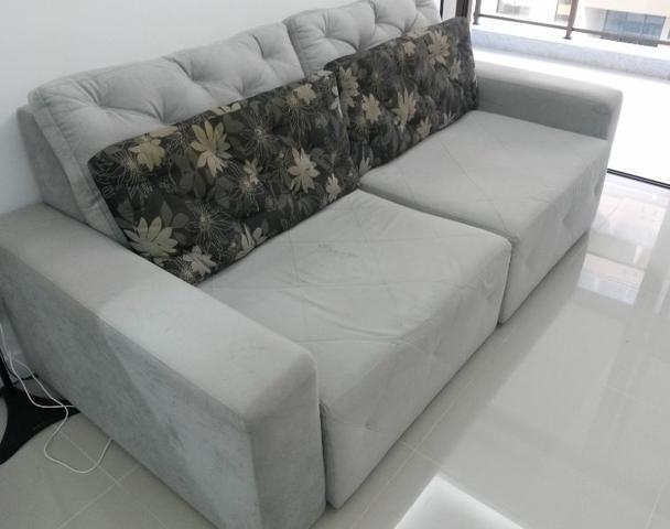 Sofa 4 lugares retratil cama box casal ofertas for Sofa 4 lugares retratil