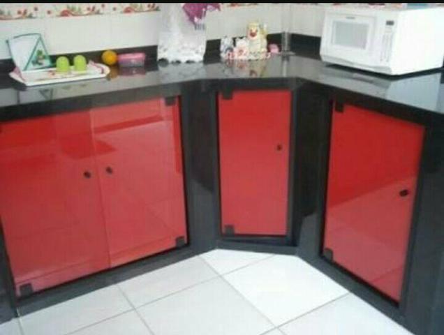 #474357 armario para pia blindex OFERTAS Vazlon Brasil 636x480 px Armario De Cozinha Em Blindex #2979 imagens