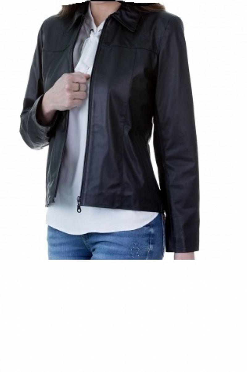 481adf1df casaco couro legitimo feminino jaqueta couro em retalhos [ OFERTAS ...