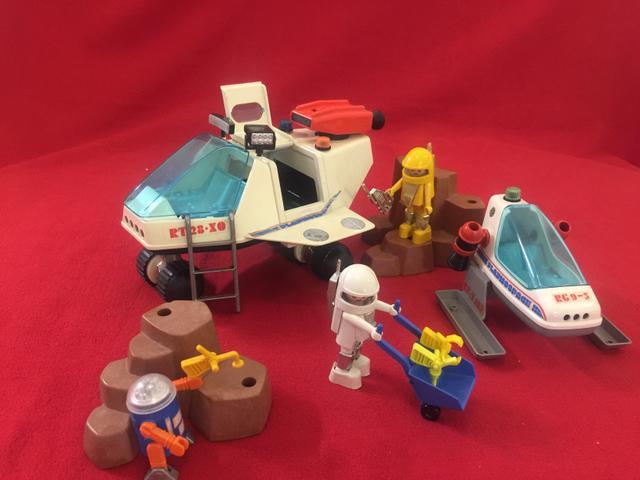 Tente nave espacial com veiculo de transporte ofertas for Nave espacial playmobil