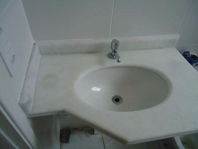 cuba marmore banheiro 55cm larg x 120cm comp com  Vazlon Brasil -> Pia De Banheiro Semi Nova